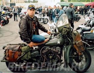 Мотоцикл-участник войны