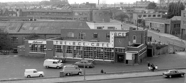 Внешний вид Ace Cafe в 60е