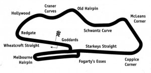 Схема трассы Донингтон-парк