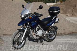 Тест мотоцикла BMW F650GS | Байкадемия