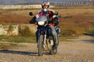 Тест ABS мотоцикла BMW F650GS | Байкадемия