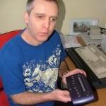 Мобильник для слепых и глухих