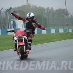 Умберто Рибейро: руление мотоциклом при помощи веса тела