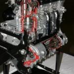 Внутреннее устройство двигателя мотоцикла Triumph Rocket III