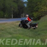 Honda CBR1100XX Superblackbird на бездорожье