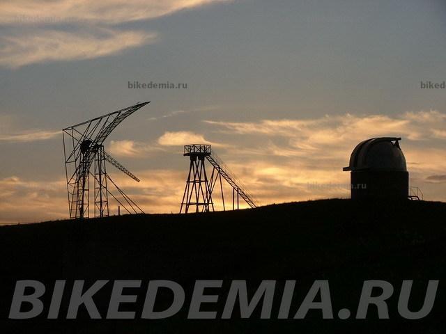 Антенны кисловодской горной астрономической станции