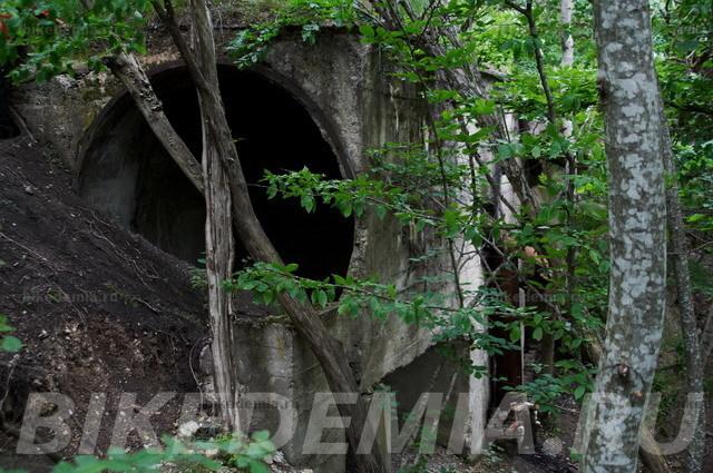 Вентиляционная шахта на горе Бештау