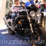 Triumph Speed Triple на шоу в NEC