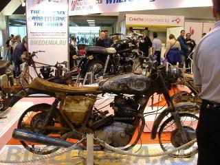 Vincent Black Shadow после пожара в британском мотомузее