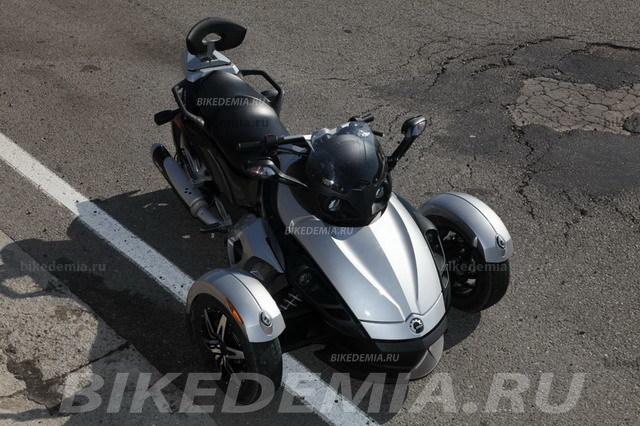 Can-Am Spyder GS: вопреки канонам мотодизайна