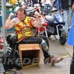 Фанат Валентино Росси: даже протез с номером 46