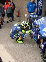 Валентино Росси: обряд перед гонкой