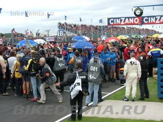 MotoGP Великобритании-2004: стартовая позиция