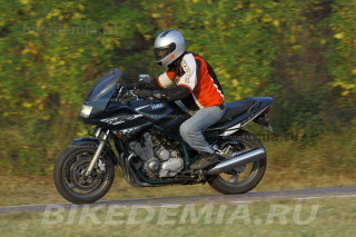 За рулем Yamaha XJ900S Diversion