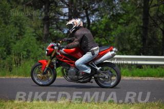 За рулем Moto Morini Corsaro 1200