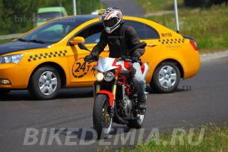 Moto Morini Corsaro 1200 идеален для города