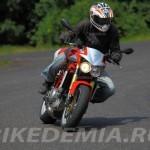 Moto Morini Corsaro 1200 управляется великолепно
