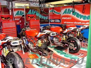 Британский супербайк, команда Airwaves Ducati