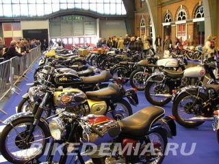 Мотошоу GMEX: старинные мотоциклы