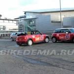 Парковка с заносом в исполнении Русса Свифта