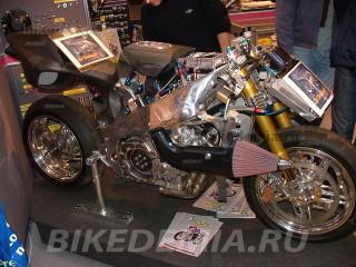 Радикальный мотоцикл «Dreadnought» фирмы Piersdowell