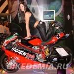 Супербайк Ducati 999 команды MonsterMob