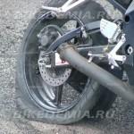 Задняя шина после отжига
