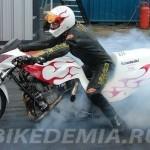 Santa Pod: отжигает Funny bike