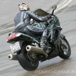 Kawasaki ZZR1200R в повороте