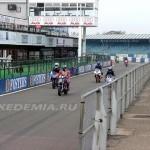 Silverstone: въезд на питлейн