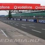 Silverstone: питлейн