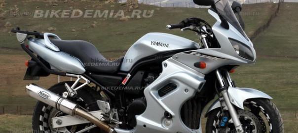 Yamaha Fazer FZS600: популярен в Европе
