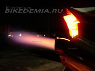 Kawasaki ZRX1200R: прострелы из прямотоциного глушителя
