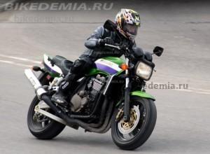 Kawasaki ZRX1200R: наглый и зеленый