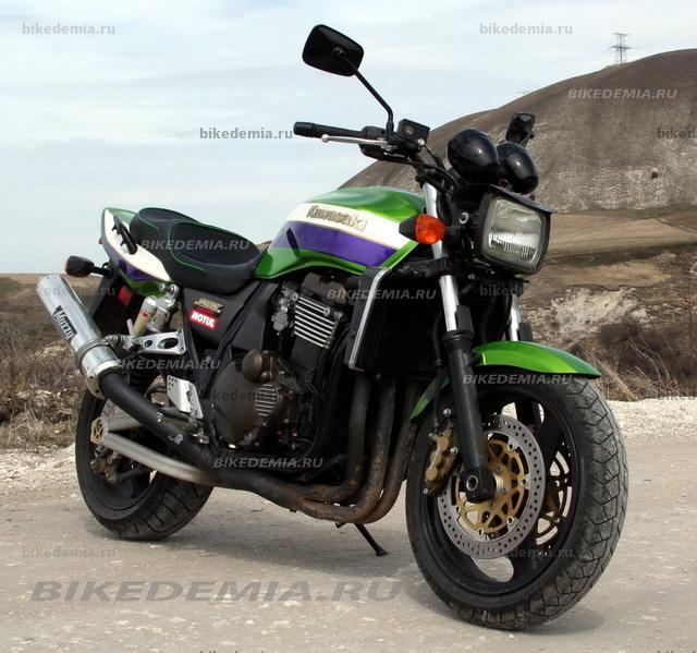 Kawasaki ZRX1200R: вызов окружающим
