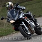 Yamaha FZ6 Fazer: в поворотах стабильнее
