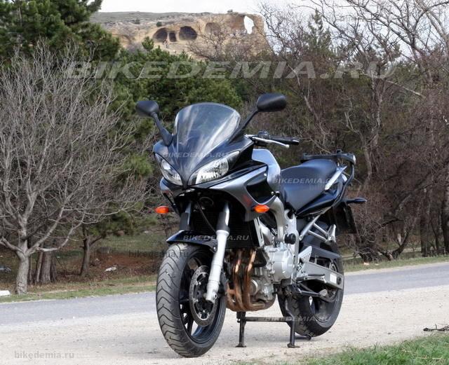 Yamaha FZ6 Fazer: внешность стала современнее