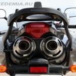 Yamaha FZ6 Fazer: глушители под седлом пассажира