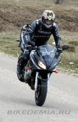 Yamaha FZ6 Fazer: торможение со стоппи