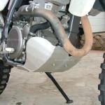Suzuki DRZ400S: защита картера
