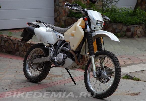 """Suzuki DRZ-400S с установленным """"тюнингом"""""""