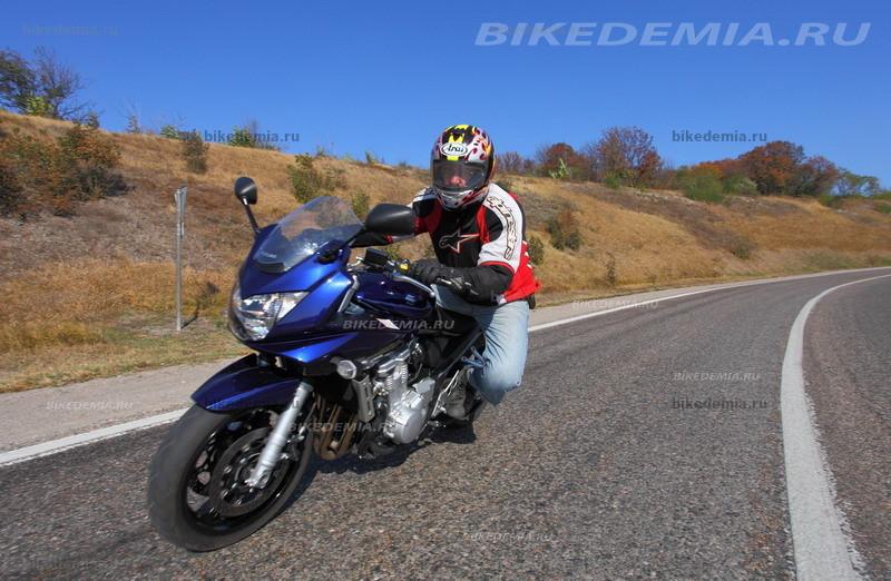 Тест Suzuki Bandit 1250S: