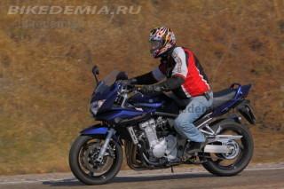 Тест Suzuki Bandit 1250S: разгонная динамика отличная