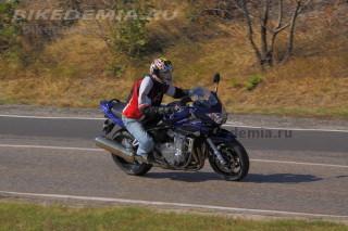 Тест Suzuki Bandit 1250S: практичный и юркий