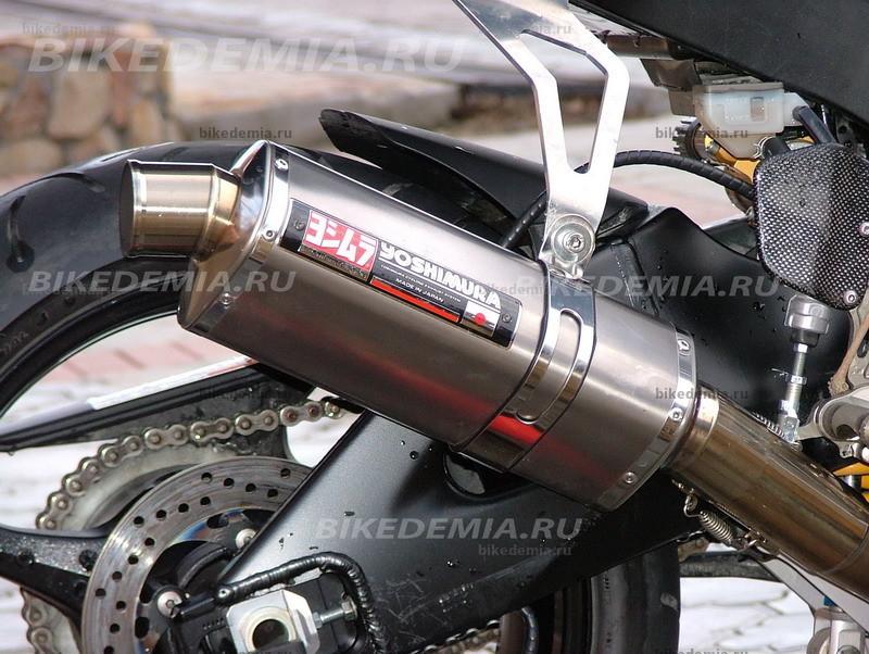 Тюнинг Suzuki GSX-R1000: прямоточный глушитель Yoshimura