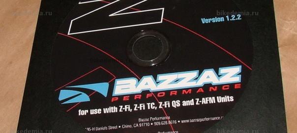 Диск с программным обеспечением BAZZAZ