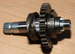 Механизм кикстартера Suzuki DRZ-400