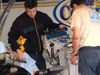 Двигатель Suzuki GSX-R1000 чемпионата WSBK