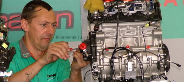 WSB: двигатель Foggy Petronas