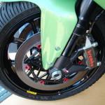 Керамические диски BrakeTech на супербайке Foggy Petronas